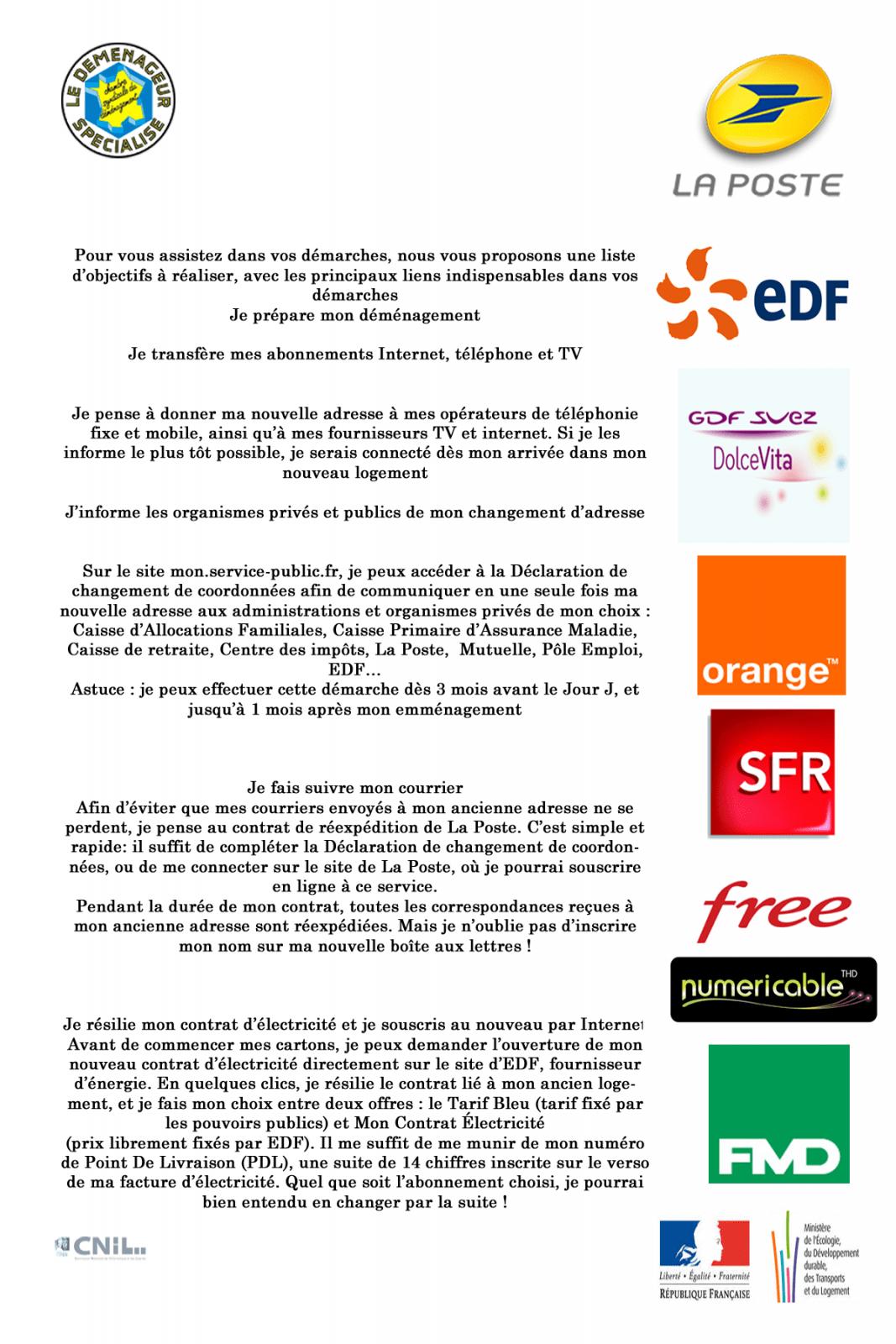 Nos partenaires paris province d menagement for Changement d adresse impots