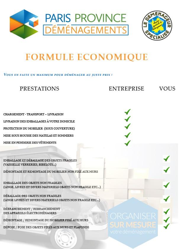 formule economique